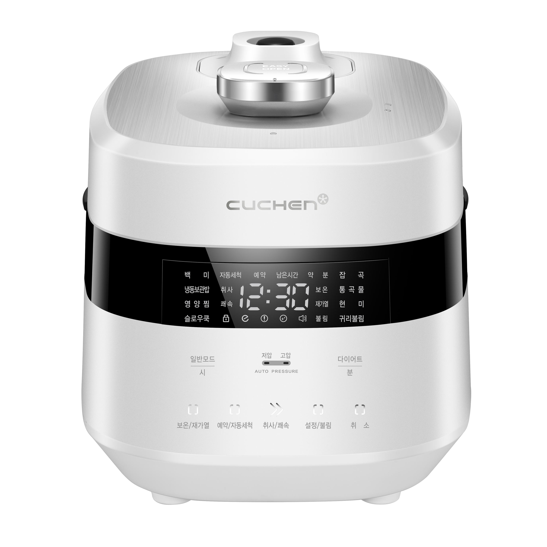 쿠첸 Thin플러스 전기압력밥솥 6인용, CJS-FE0602SDVF(화이트)
