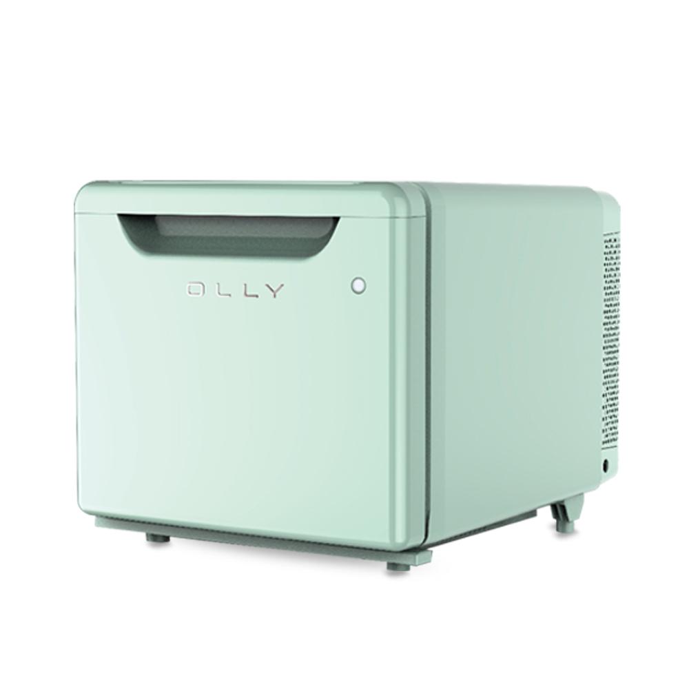 올리 저소음 미니 냉장고 24L, OLR02M