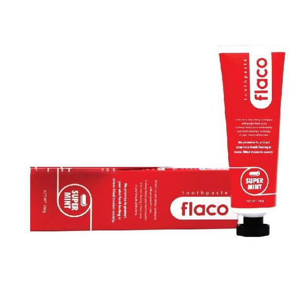 플라코 오리지널 치약, 100g, 1개