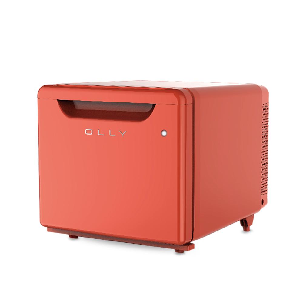 올리 저소음 미니 냉장고 24L, OLR02R