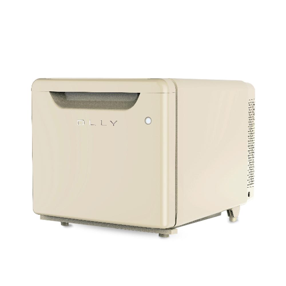올리 저소음 미니 냉장고 코지 아이보리 24L OLR02V