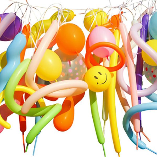 파티야놀자 DIY 생일 풍선가랜드 세트, 혼합색상