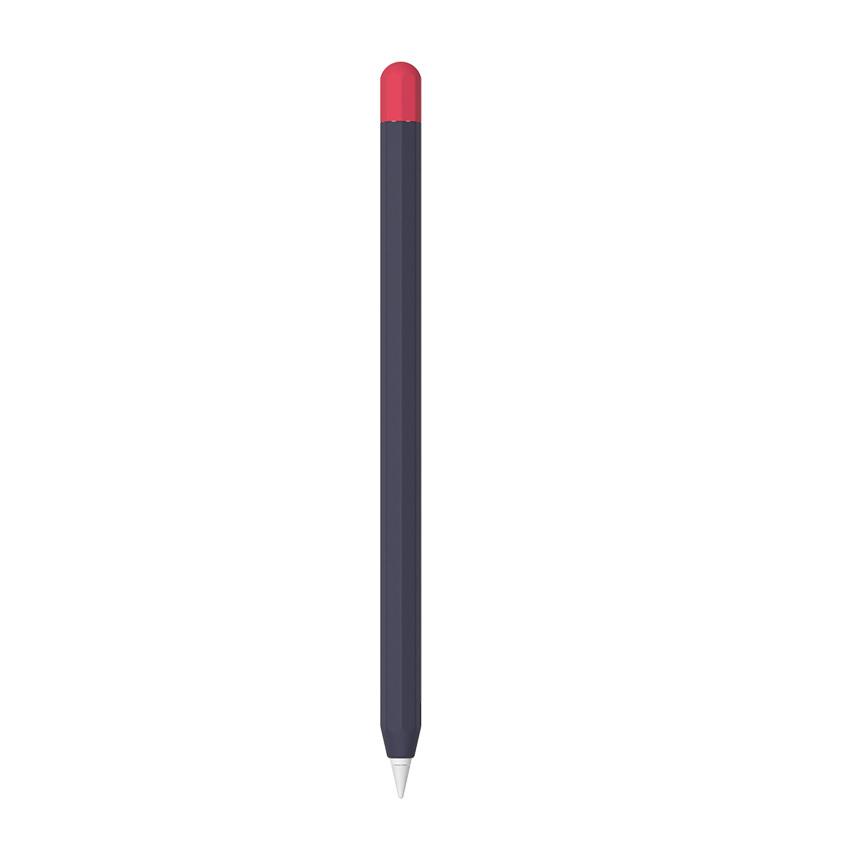 애드온 애플펜슬 2세대 투톤 실리콘 슬리브, 네이비(AA178), 1개