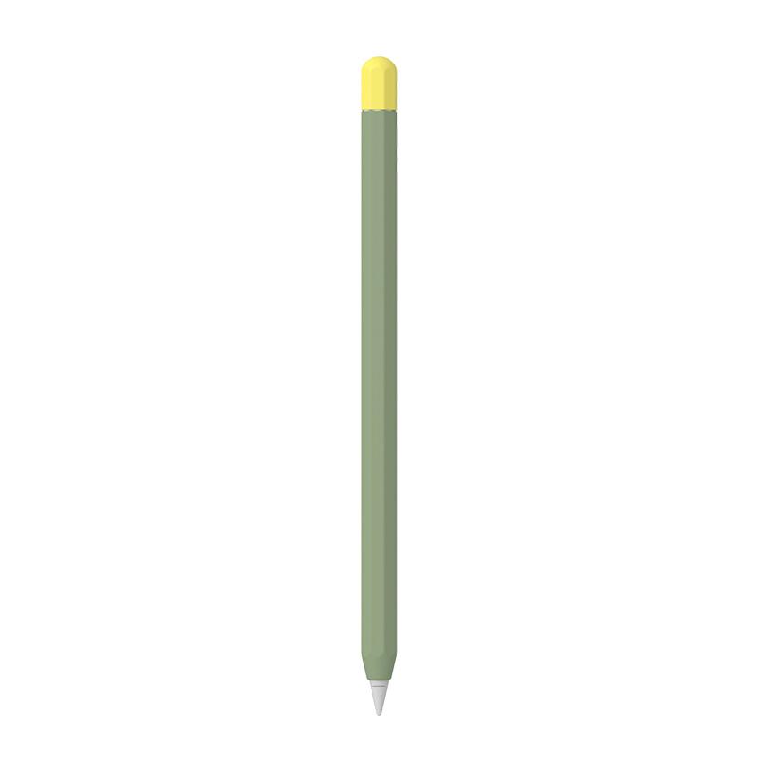 애드온 애플펜슬 2세대 투톤 실리콘 슬리브, 그린티(AA179), 1개