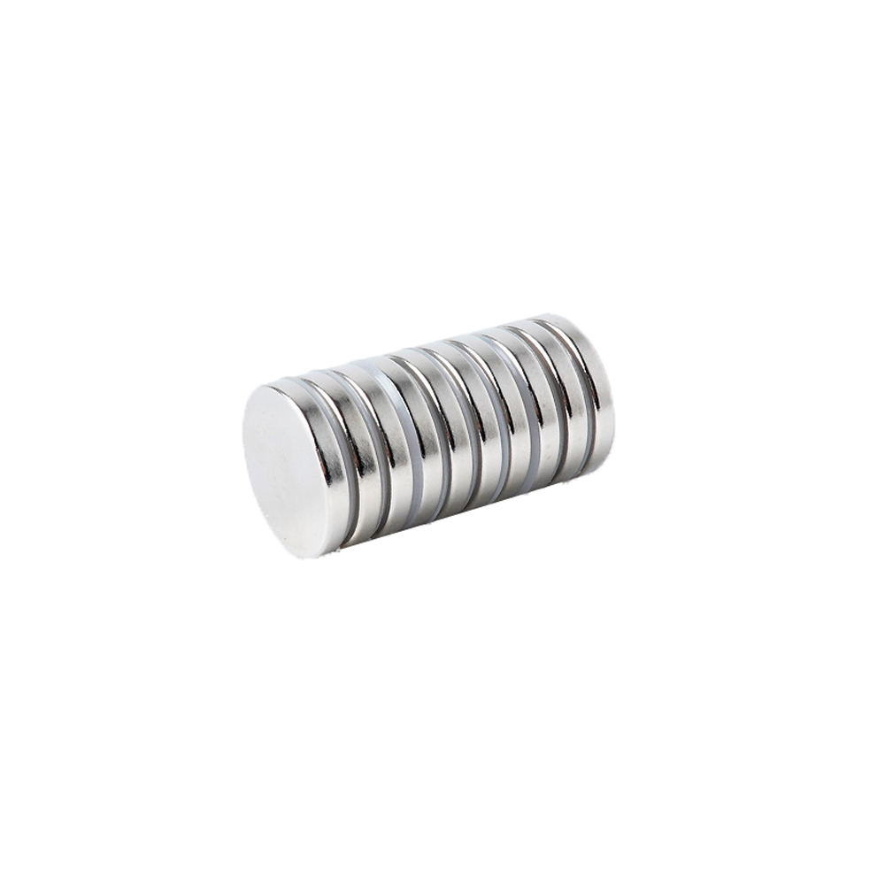 페인트인포 초강력 네오디움 원형자석 지름 20mm x 두께 3mm, 실버, 10개
