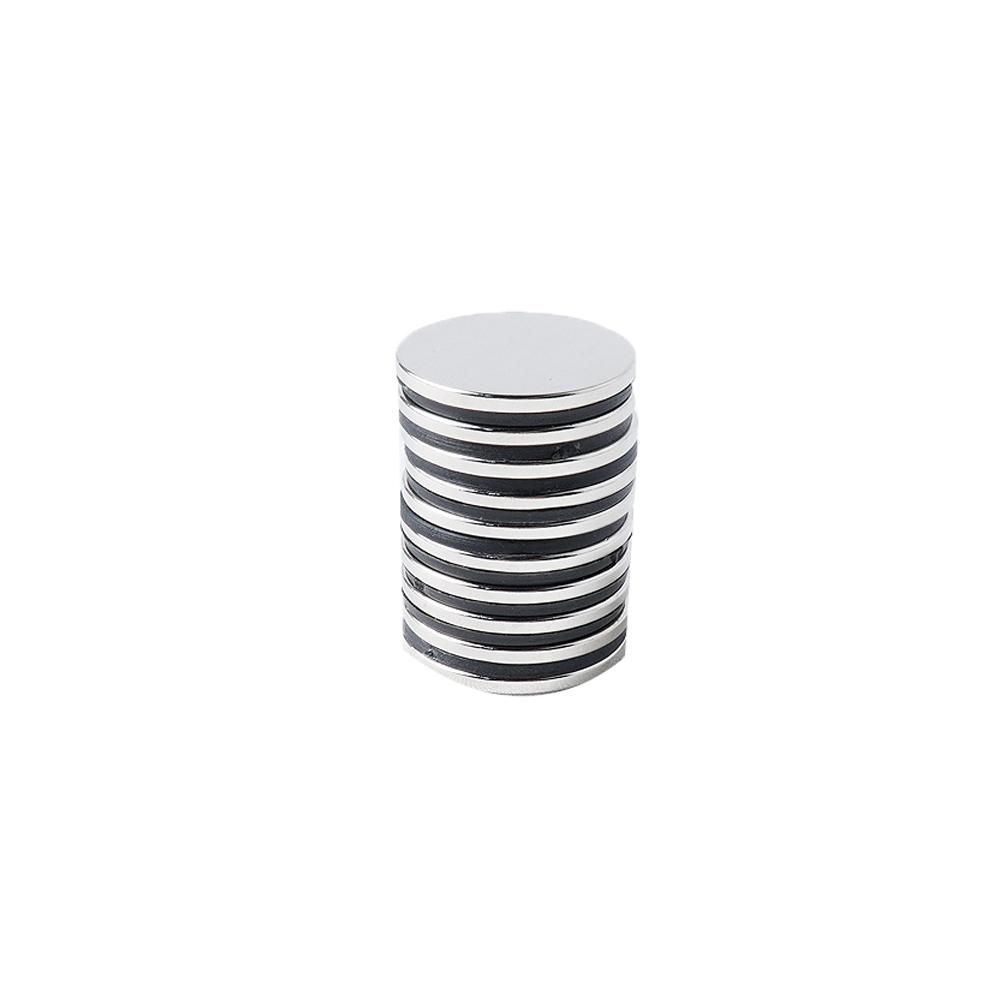 페인트인포 초강력 네오디움 원형자석 지름 25mm x 두께 2mm, 실버, 10개