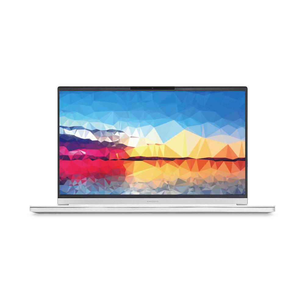 한성컴퓨터 노트북 아방가르드 실버 TFX5075GW (i7-10750H 39.62cm GTX1650Ti), 포함, NVMe 500GB, 16GB