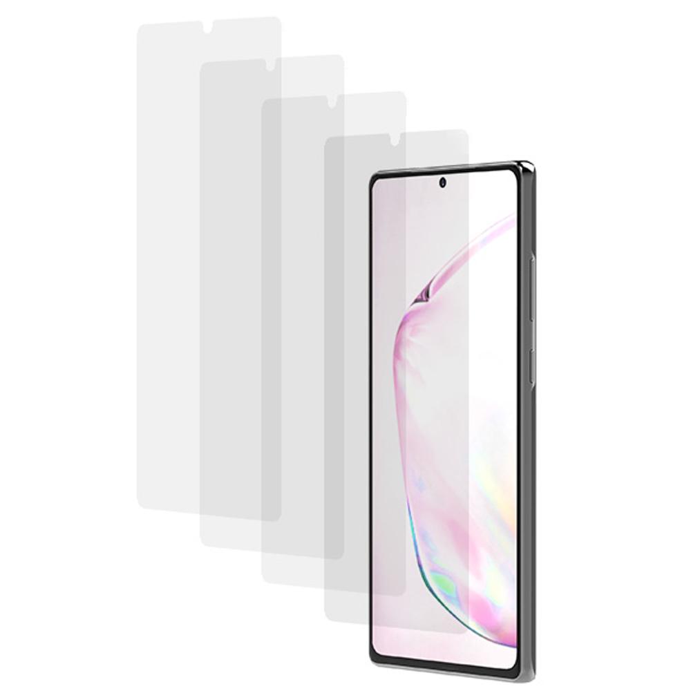 랩씨 이지스 풀커버 우레탄 휴대폰 액정보호필름 4p, 1세트