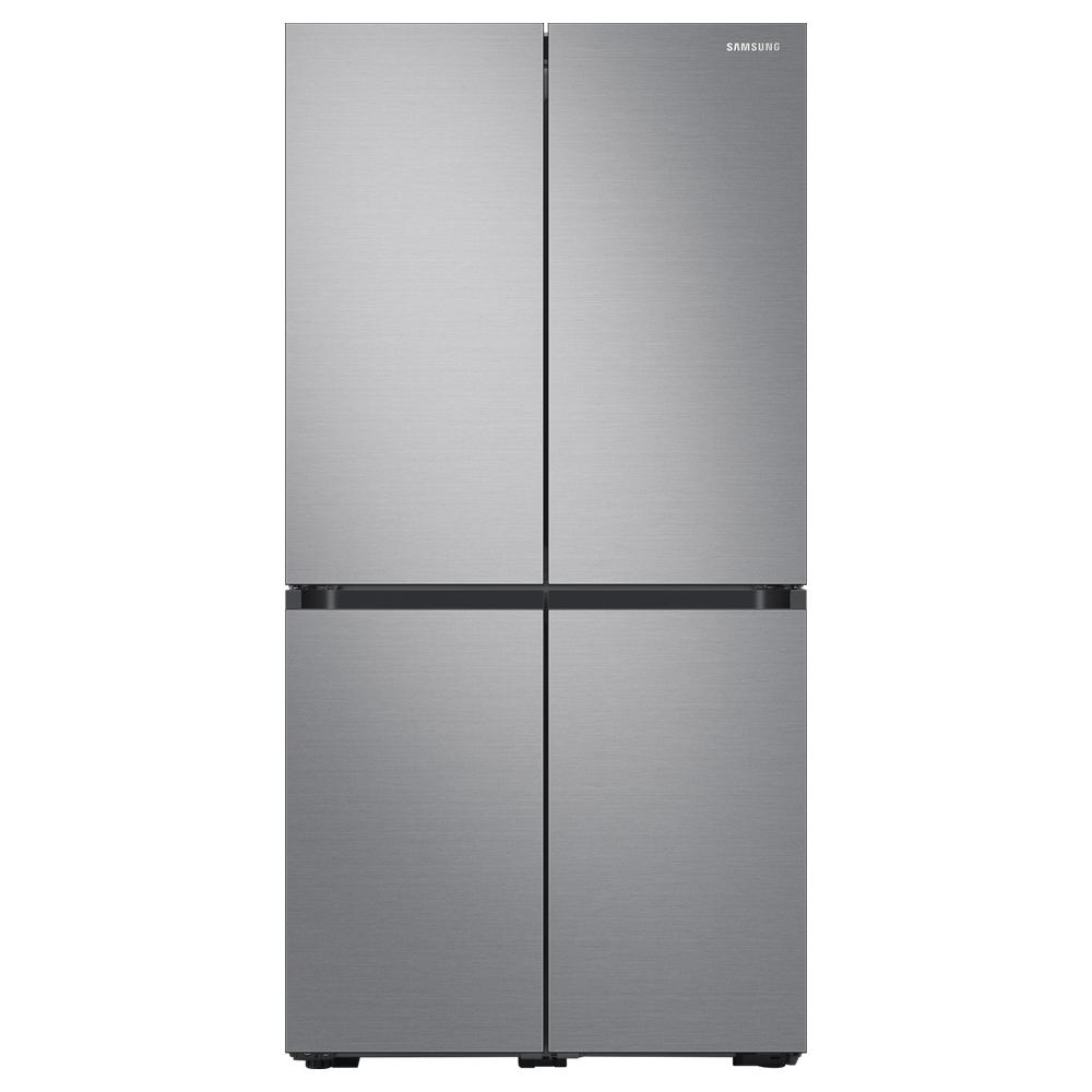 삼성전자 비스포크 4도어 프리스탠딩 냉장고 리얼메탈 RF85T9013T2 871L 방문설치