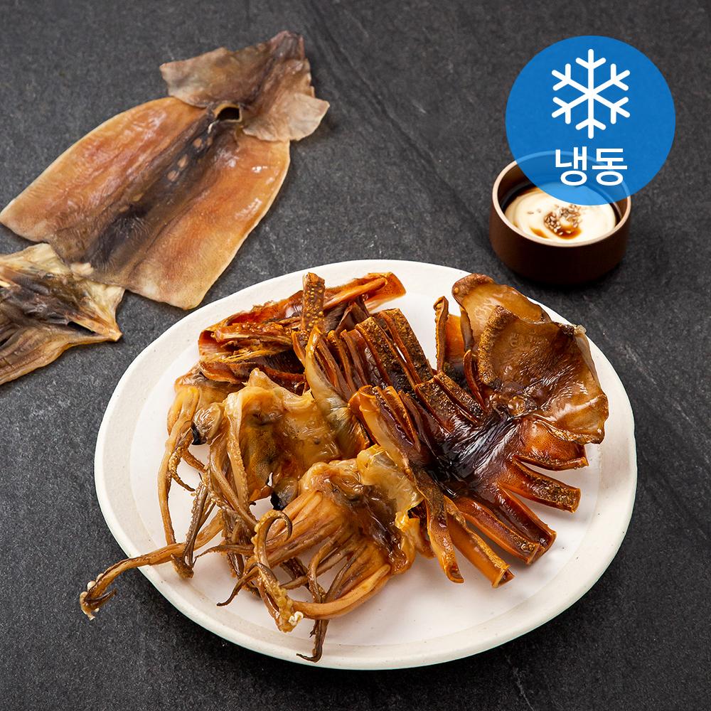 포항시인증 해선생 구룡포 건오징어 대4미 (냉동), 320g, 1개