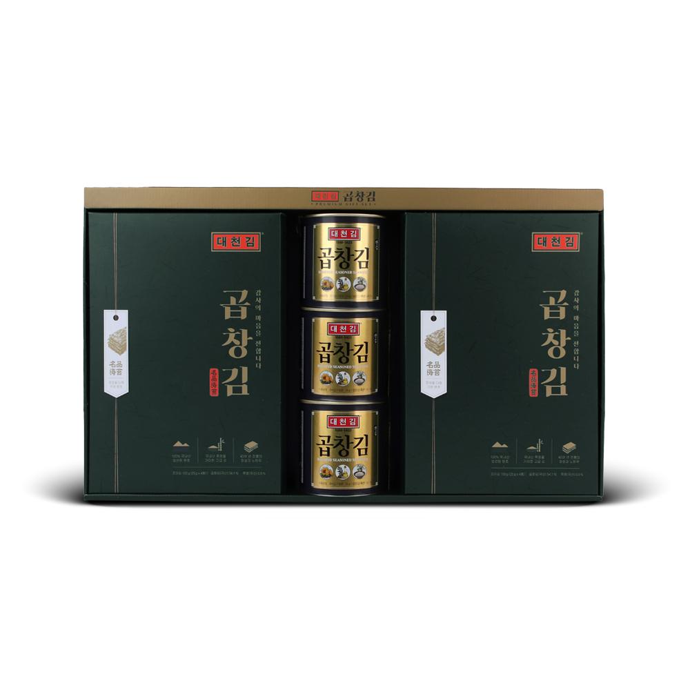대천김 곱창김 선물 세트 S711, 1세트