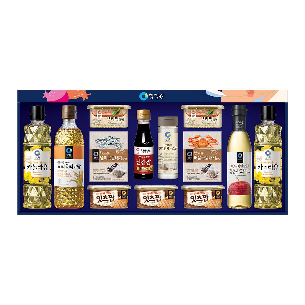 청정원 행복 고급호 선물세트, 1세트