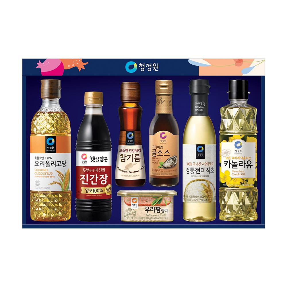 청정원 행복 7호 선물세트, 1세트