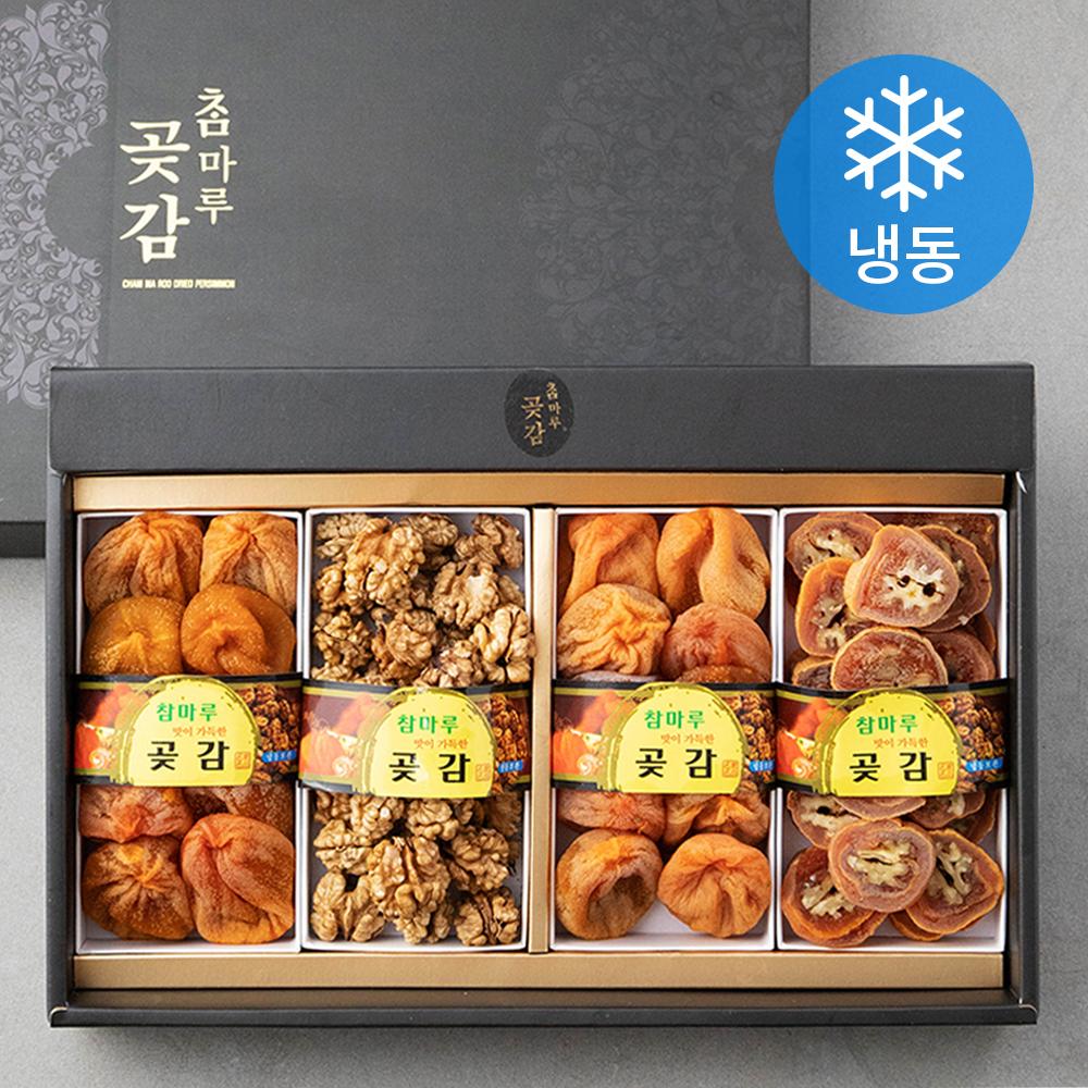 영동 프리미엄 견과 곶감혼합 세트 (냉동), 1세트