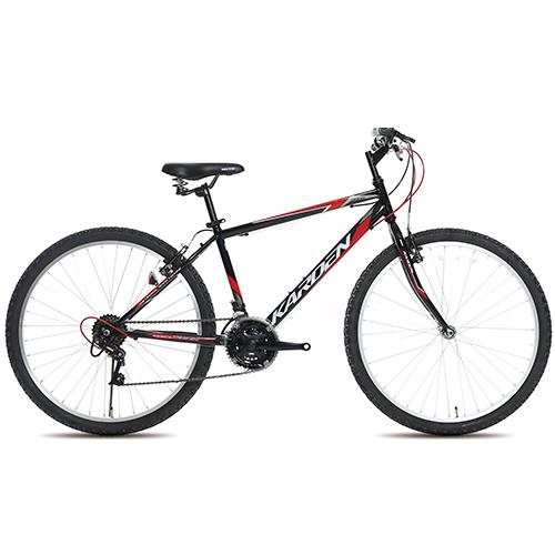 뮤트 카르덴26GS 자전거 40.64cm, 블랙/레드, 1715mm