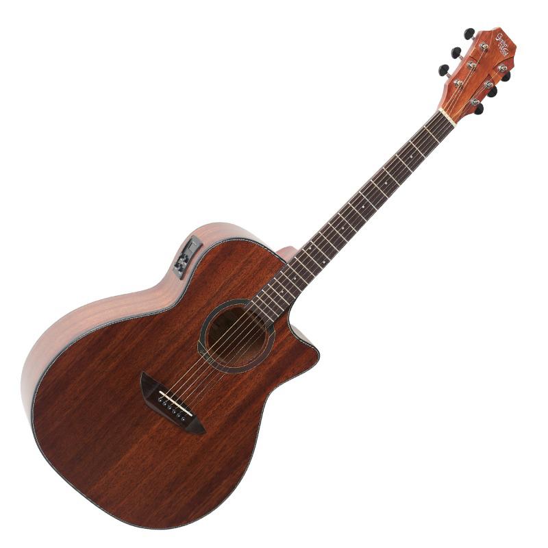 고퍼우드 어쿠스틱 기타, G130MCE, Natural