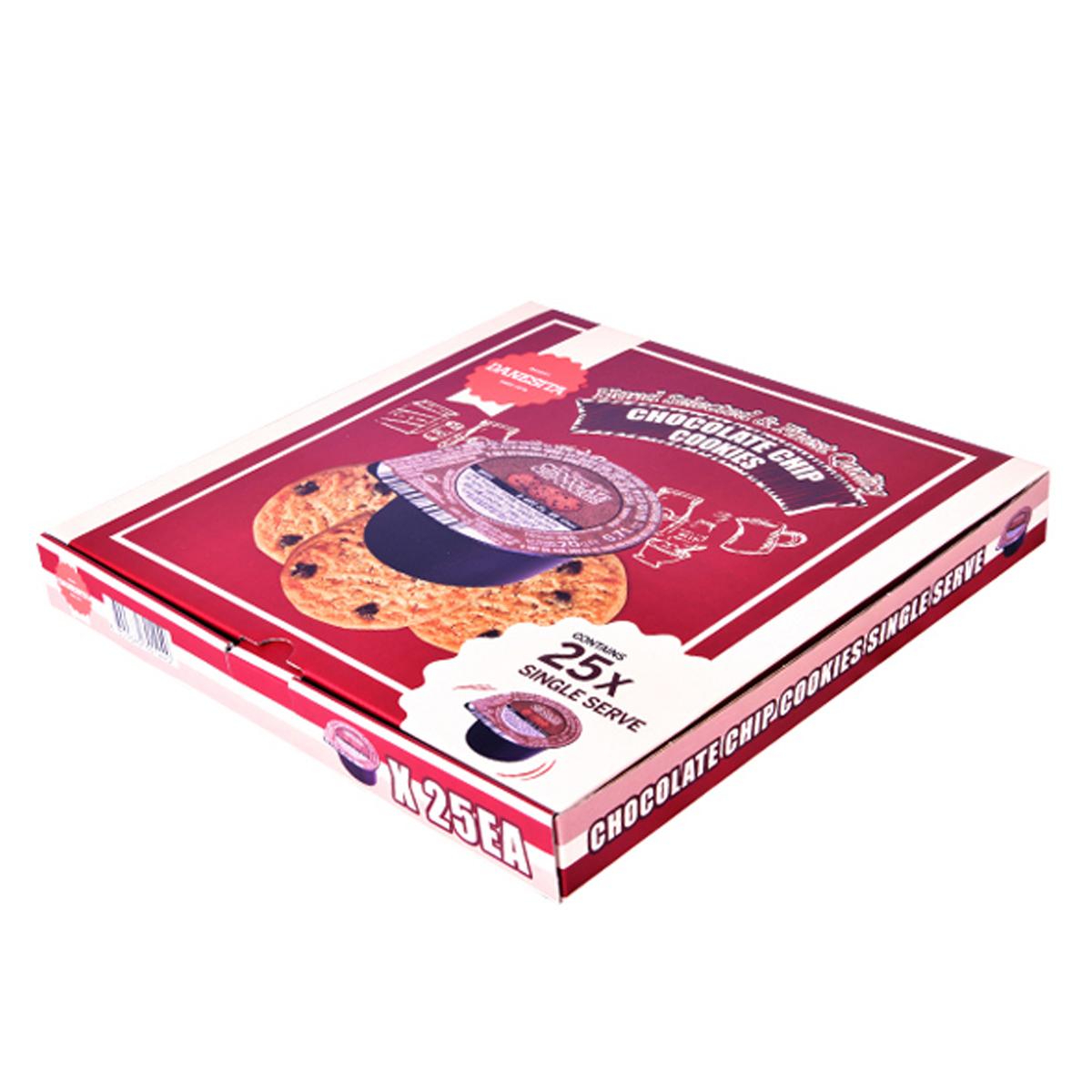댄케이크 초콜릿칩 쿠키 싱글서브, 20g, 25개