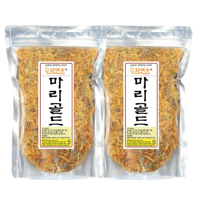 자연초 마리골드차, 150g, 2개