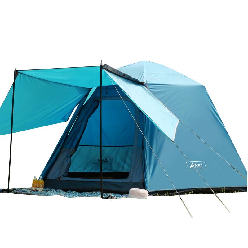 아이두젠 트라이베카 원터치 오토 텐트 윙플라이 패키지, 틸블루