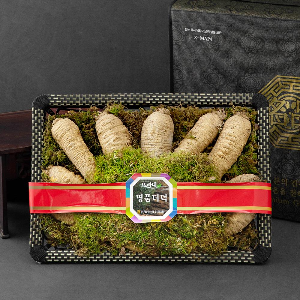 뜨라네 횡성더덕 선물세트, 1.8kg(10뿌리), 1세트