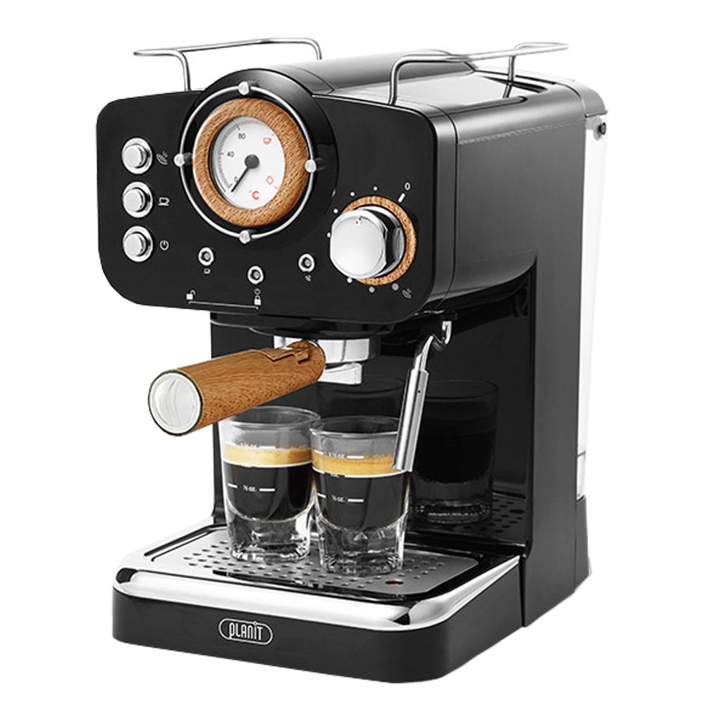 플랜잇 홈 카페프레소 커피머신, PCM-F15WW(블랙)