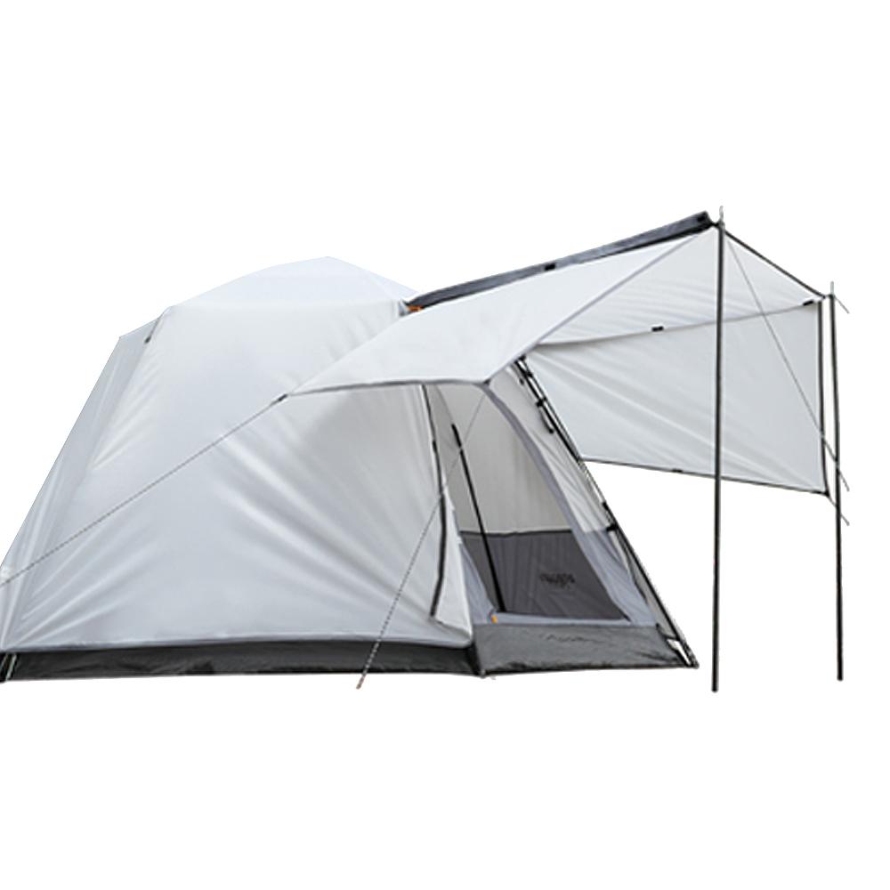 아이두젠 트라이베카 원터치 오토 텐트 윙플라이 패키지, 라이트그레이