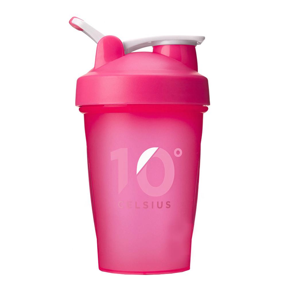 10도씨 블렌딩 쉐이커 보틀, 핑크, 400ml