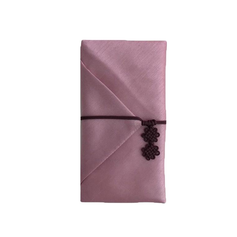 르미에 고급 용돈봉투 + 보자기 + 스티커 세트, 1세트, 핑크