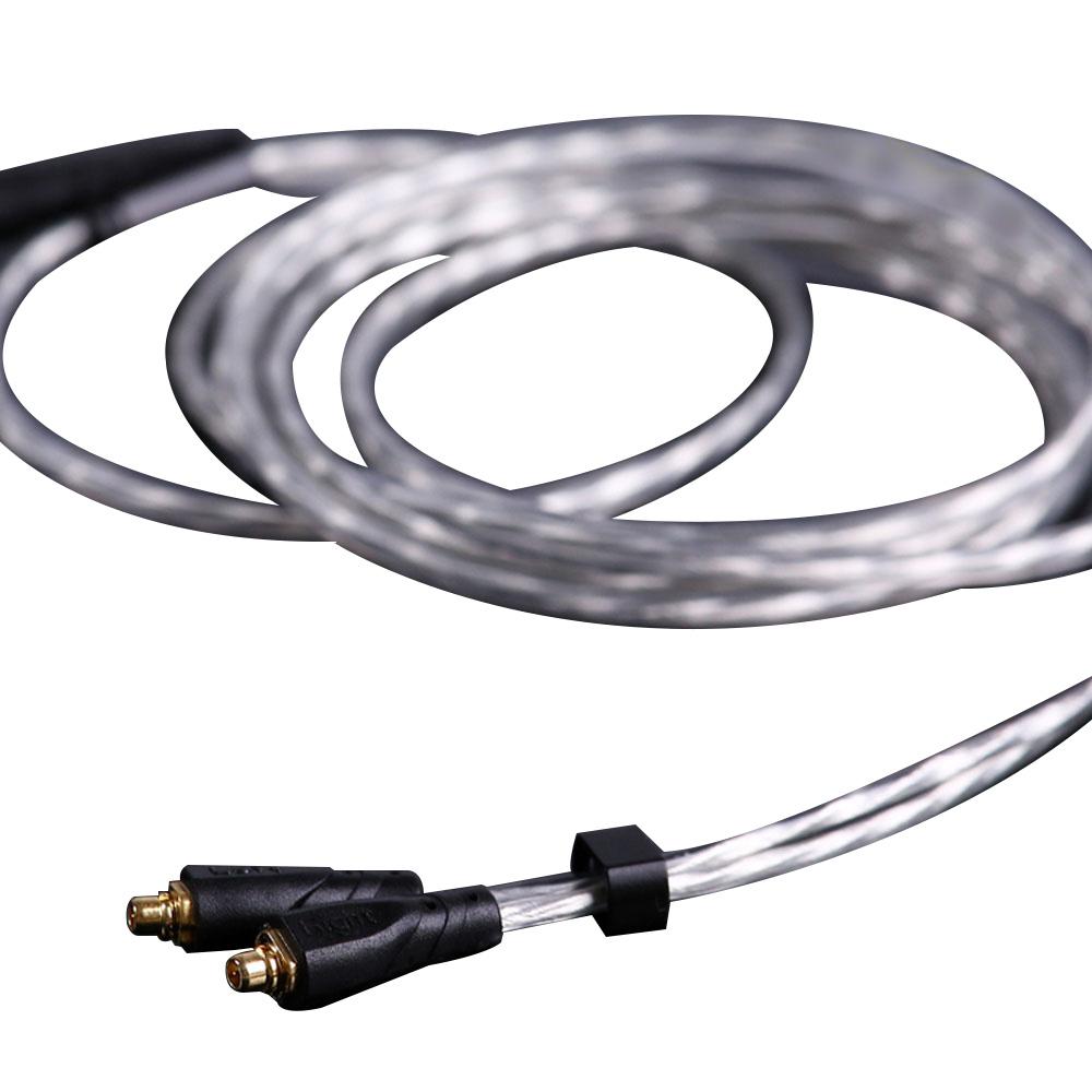 센퍼 무산소 은도금 MMCX 이어폰 케이블, 혼합색상