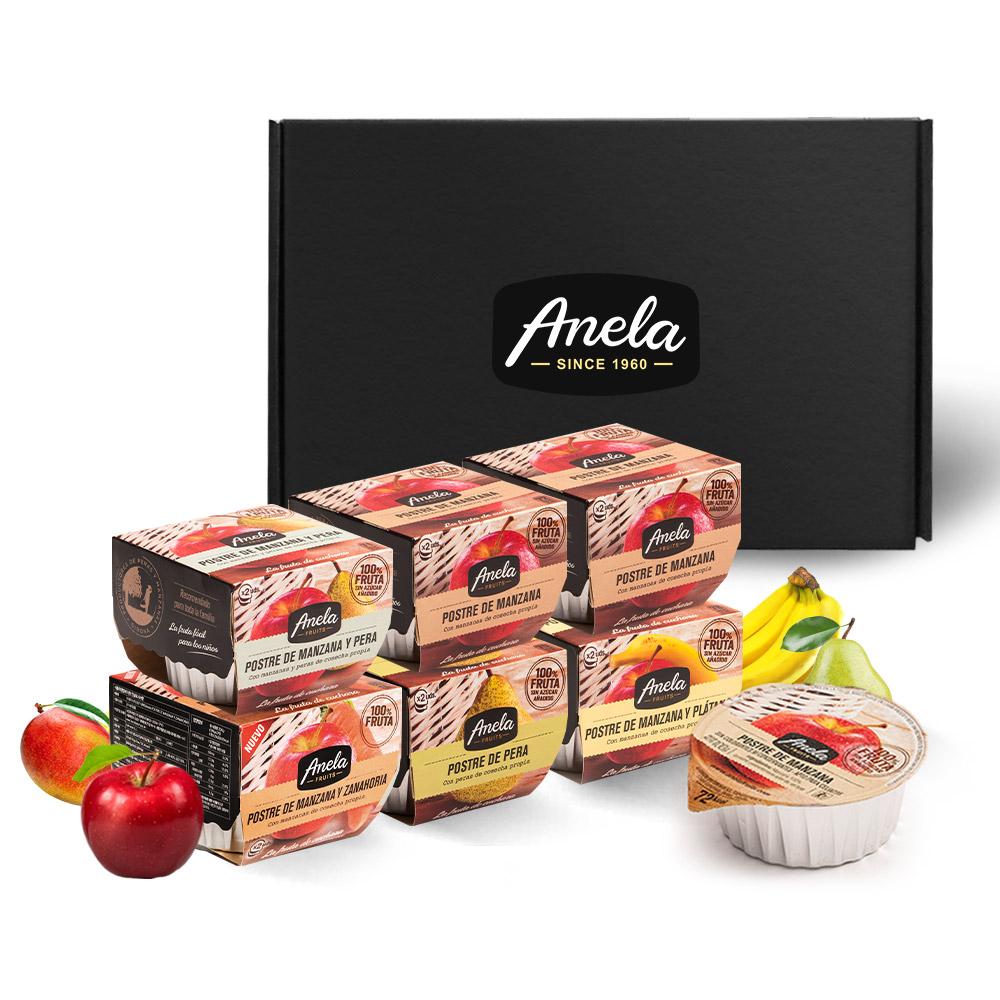 아넬라 생과일 퓨레 베스트셀러 6팩 선물세트, 사과, 바나나, 당근, 배, 사과배, 1세트
