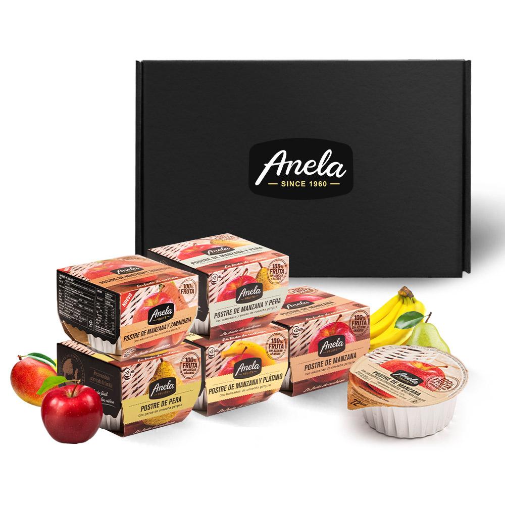 아넬라 생과일 퓨레 첫시작 5팩 선물세트, 사과, 바나나, 배, 당근, 사과배, 1세트