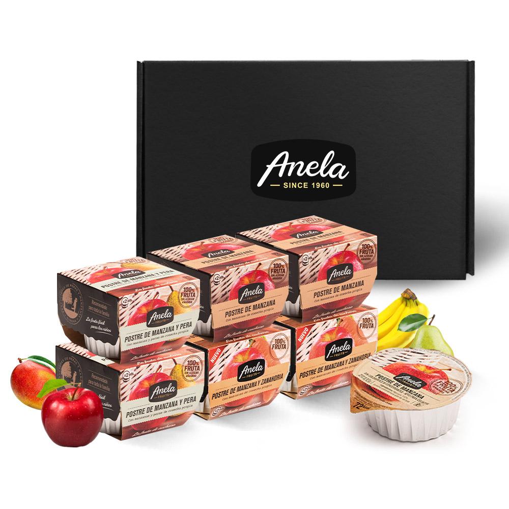 아넬라 생과일 퓨레 첫시작 6팩 선물세트, 사과, 사과배, 당근, 1세트