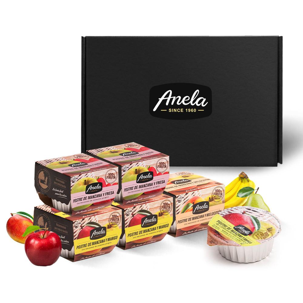 아넬라 생과일 퓨레 달콤 5팩 선물세트, 딸기, 망고, 복숭아, 1세트