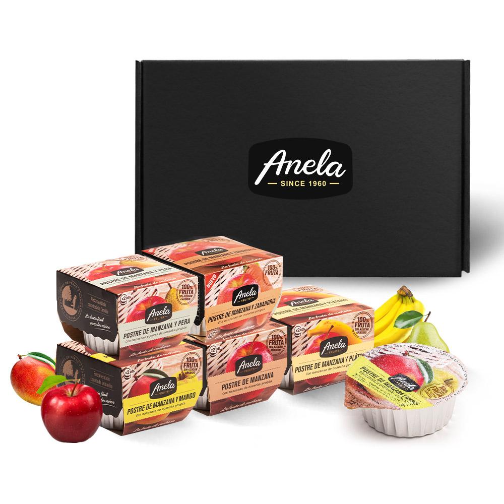 아넬라 생과일 퓨레 스테디셀러 5팩 선물세트, 망고, 사과, 바나나, 사과배, 당근, 1세트