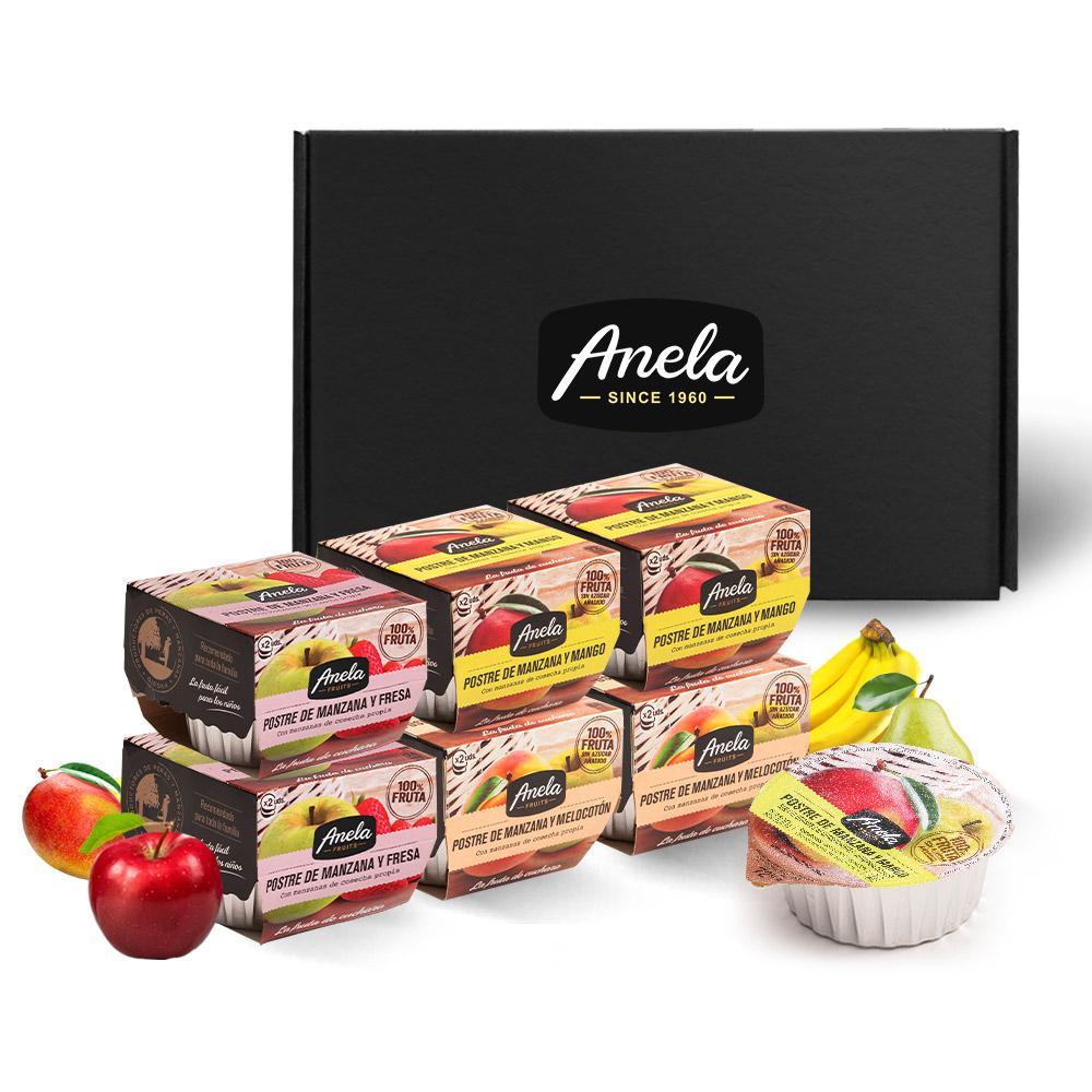 아넬라 생과일 퓨레 스테디셀러 6팩 선물세트, 딸기, 망고, 복숭아, 1세트