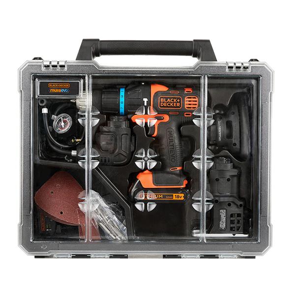 블랙앤데커 충전 멀티공구 EVO184K, 35p, 1세트