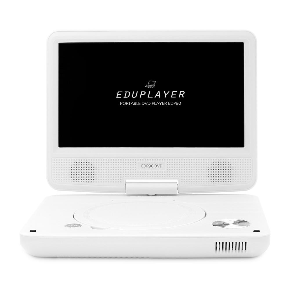 에듀플레이어 휴대용 DVD 플레이어 화이트, EDP90