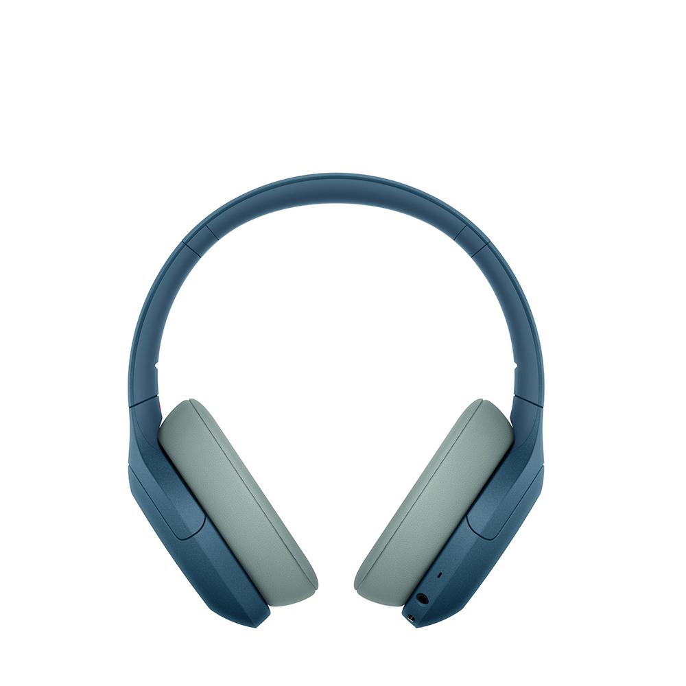 소니 노이즈캔슬링 블루투스 무선헤드폰, 블루, WH-H910N