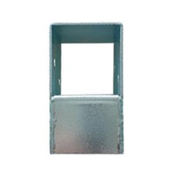 하이클립 사각파이프 조인트 50스틸 일자형, 1개 (POP 1176705595)
