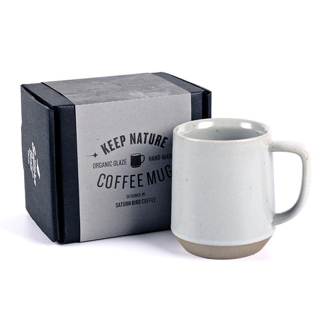 [도자기 머그컵] 칼딘 킵 네이처 커피 도자기 머그컵 350ml, 파우더 블루, 1개 - 랭킹9위 (11900원)