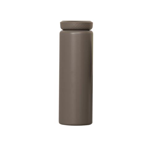 블루마마 보온보냉 316 스테인레스 텀블러, 딥브라운, 500ml