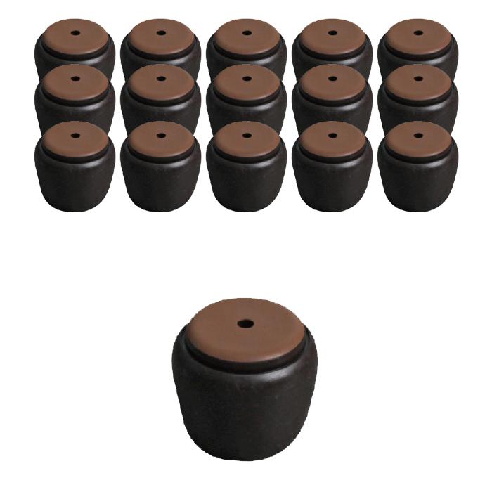 [체어서퍼] 체어서퍼 먼지가 달라붙지 않는 의자발커버 프리사이즈 L, 혼합색상, 16개 - 랭킹1위 (13300원)