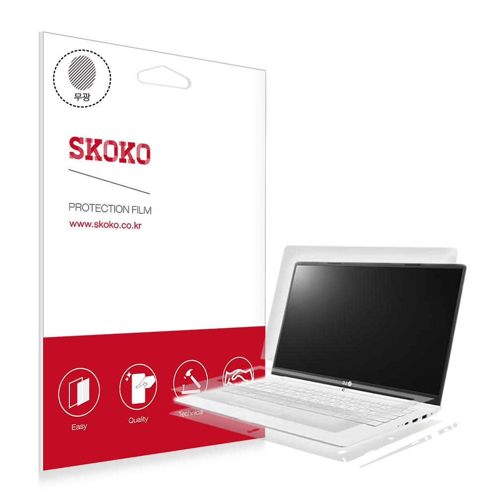 스코코 LG그램 14 2019 14Z990 / 14ZD990 무광 전신 외부보호필름, 1개