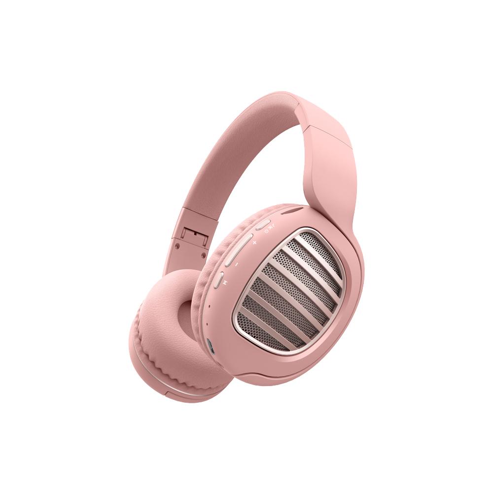 디알고 블루투스 헤드폰, 핑크, BH031