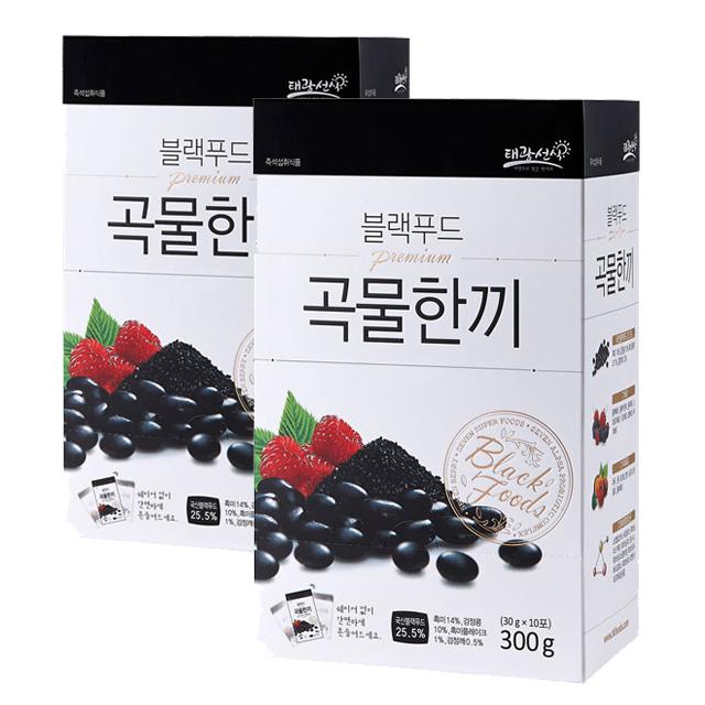 [선식] 태광선식 블랙푸드 곡물한끼, 30g, 20개 - 랭킹71위 (16960원)