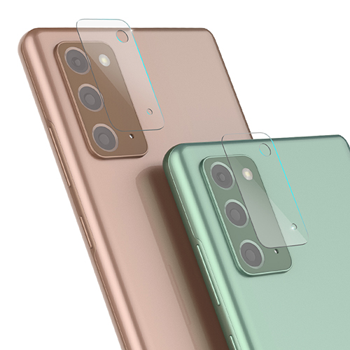 신지모루 쉴드 휴대폰 후면 카메라렌즈 강화유리 액정보호필름, 2개