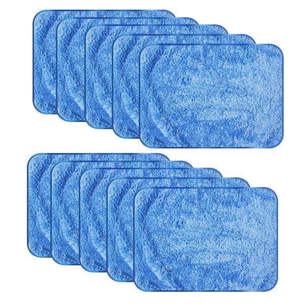 초극세사 양면 크리너 블루 30 x 40 cm, 10개