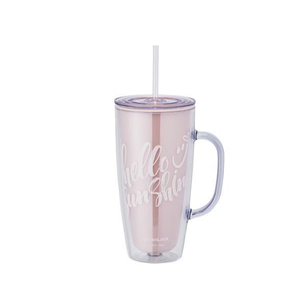 락앤락 더블월 차량용 콜드컵, 핑크, 720ml