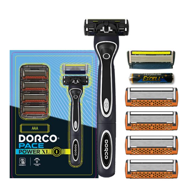 도루코 페이스파워XL 진동면도기세트, 페이스파워 진동면도기 + 날 2p + 페이스7 날 4p + 건전지, 1세트