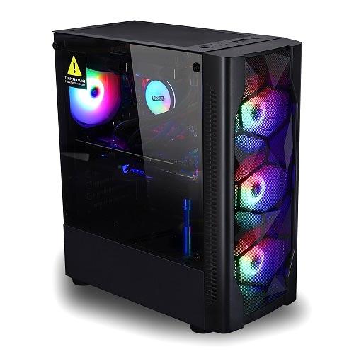컴스웨이 조립 PC No.5 (라이젠3 3300X WIN미포함 RAM 8GB SSD 250GB RX570), 단일상품, 기본형